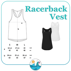 Good Times & Tan Lines Women's Racerback Vest - Mermaid&Wild