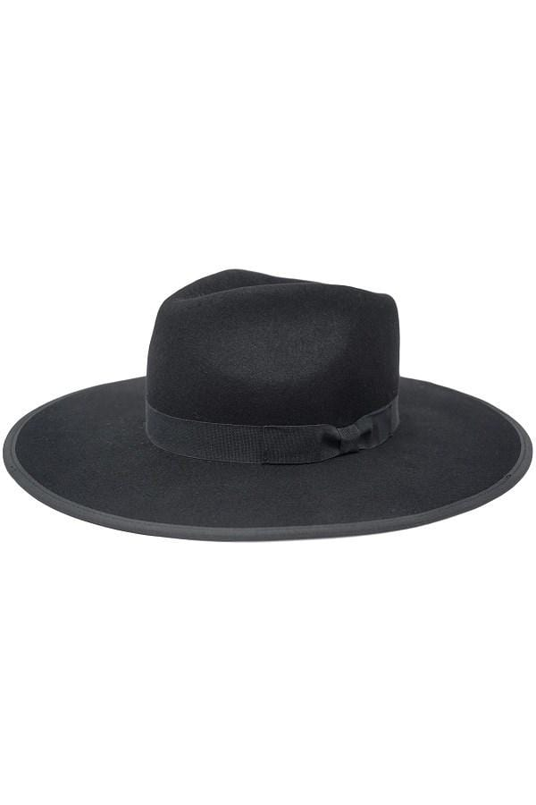 LUX Black Rancher Hat