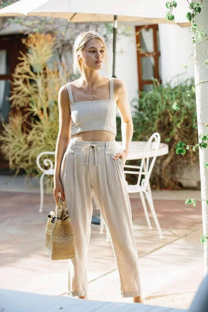 Linen Hemp Trousers