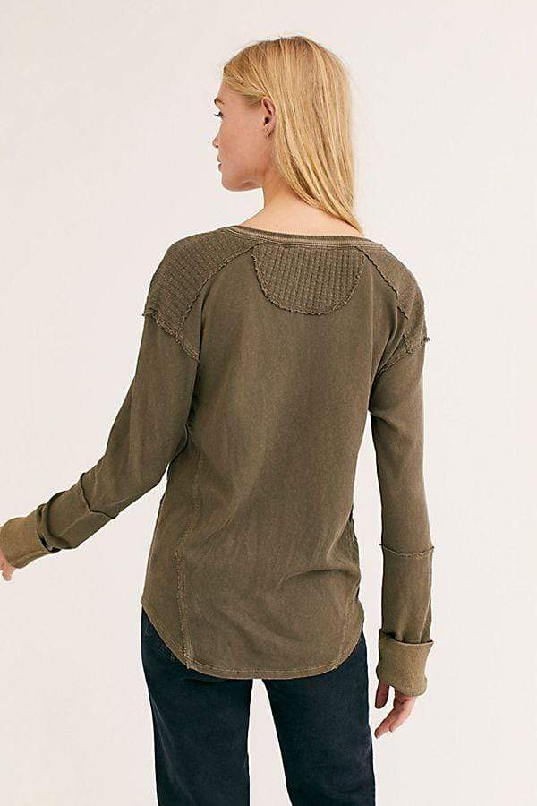 Mix'n Henley Top