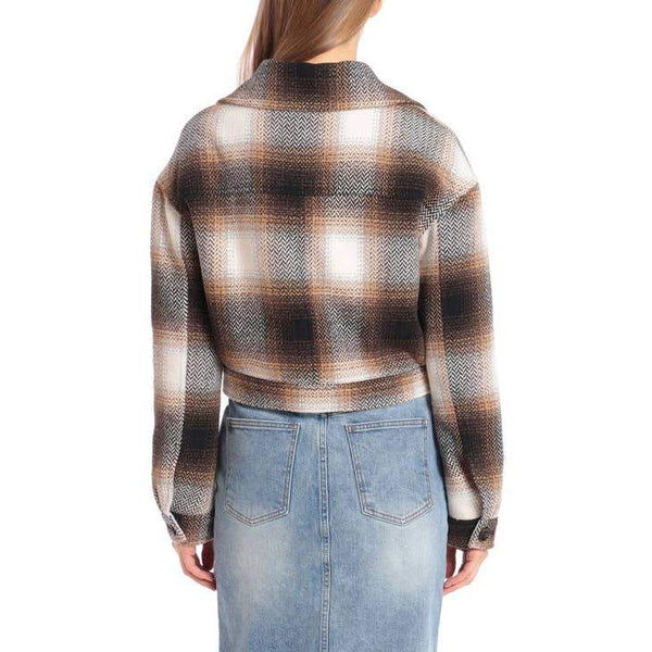 Flannel Cropped Shacket