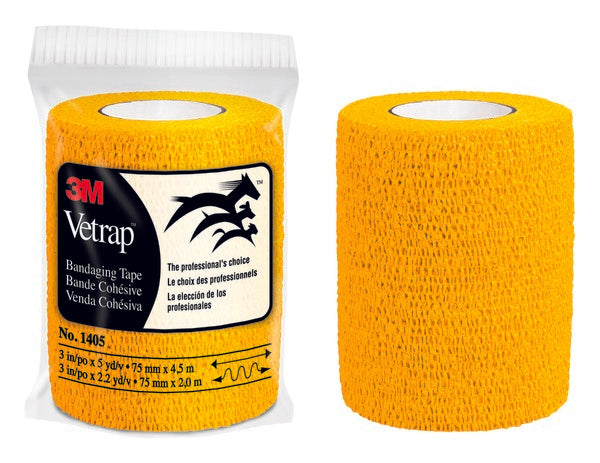3M™ Vetrap™ Bandaging Tape Bulk Pack, 1405GD Bulk Gold