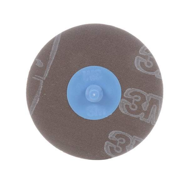 3M™ Trizact™ Roloc™ Cloth Disc 237AA, A100 X-weight, TR, 1-1/2 in, Die R150S