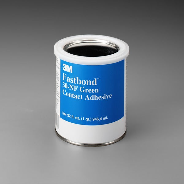 3M™ Fastbond™ Contact Adhesive 30NF, Green, 1 Quart Can, 12/case