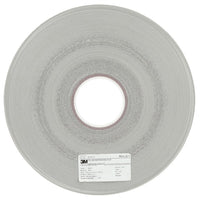 3M™ Microfinishing Film Roll 372L, 15 Mic, 22.5 mm x 160 m x 3 in (0.886inx525ft), Plastic Core, ASO, End Roll Mark Black
