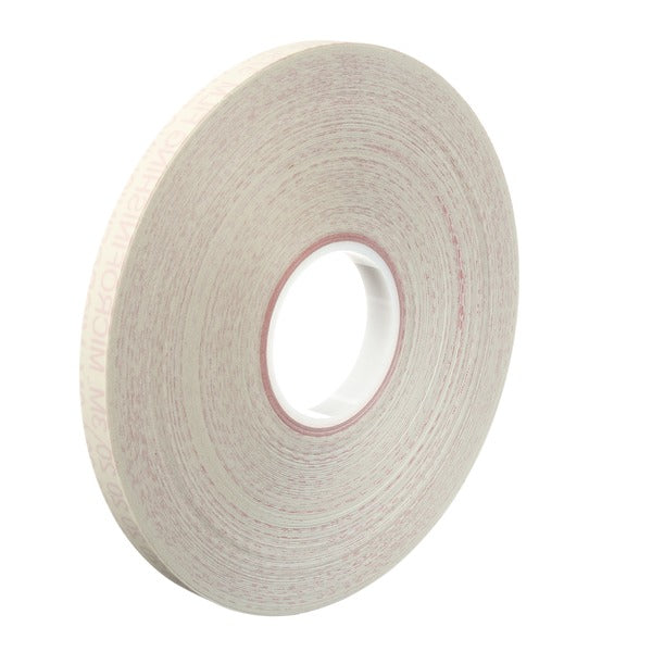 3M™ Microfinishing Film Roll 373L, 15 Mic 5MIL, 1 in x 450 ft x 3 in (25.4mmx137.25m), SP, ASO, Scallop Both 3/16 in x 3/16 in