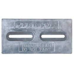 Diver's Dream Slotted Plate Anode - Zinc