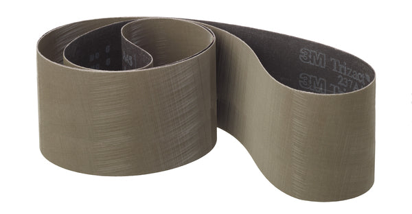 3M™ Trizact™ Cloth Belt 237AA, 4-3/4 in x 354 in, A100 X-weight, Full-Flex, 5 per inner 25 per case
