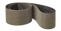 3M™ Trizact™ Cloth Belt 237AA, A100 X-weight, 1 in x 9-1/2 in, Film-lok, Full-flex