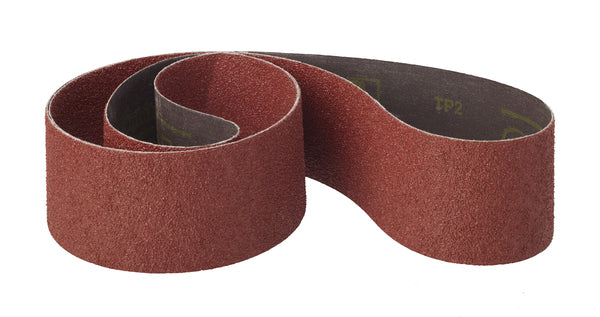 3M™ Cubitron™ II Cloth Belt 964F, P120 YF-weight, 4 in x 12-9/16 in, Fabri-lok, Single-flex