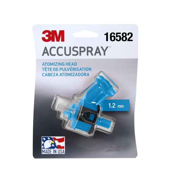 3M™ Accuspray™ Atomizing Head, 16582, Blue, 1.2 mm, 10 per case