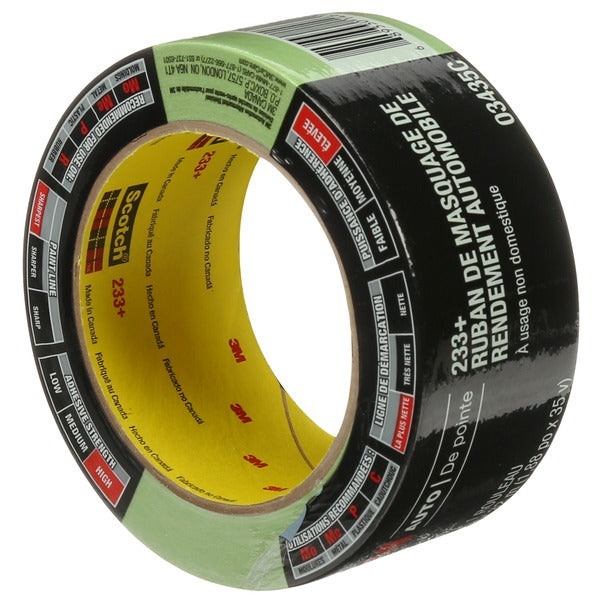 3M™ Automotive Performance Masking Tape, 03435, 48 mm x 32 m, 12 per case