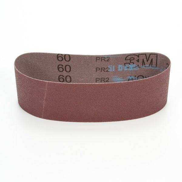 3M™ Cloth Belt 340D, 60 X-weight, 6 in x 103 in, Film-lok, Single-flex