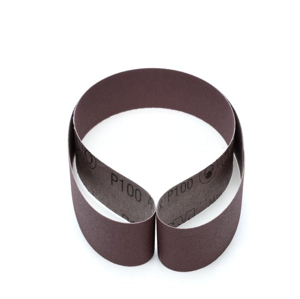 3M™ Cloth Belt 341D, P100 X-weight, 2 in x 48 in, Film-lok, Single-flex, 50 per case