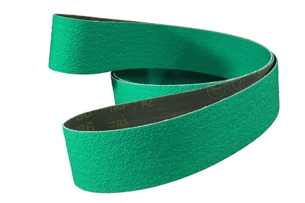 3M™ Cloth Belt 577F, 40 YF-weight, 4 in x 59 in, Film-lok, Single-flex
