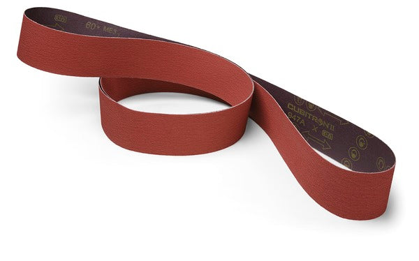 3M™ Cubitron™ II Cloth Belt 990FZ, 60+ YF-weight, 67 in x 142 in, Film-lok, Single-flex