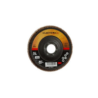 3M™ Cubitron™ II Flap Disc 967A, T29, 4-1/2 in x 7/8 in, 80+ Y-weight, Giant, 10 per case
