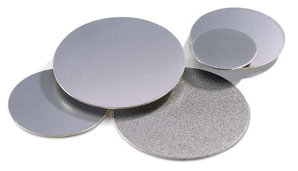 3M™ Diamond Metal Bond PSA Disc 6MB8, 220 Mesh, Gray, 8 in x NH, 1 per case, Restricted