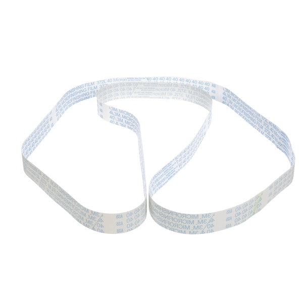 3M™ Microfinishing Film Belt 372L, 9 Mic, Light Blue, 2 in x 36 in, 25 per inner, 50 per case