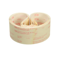 3M™ Microfinishing Film Belt 272L, 30 Mic, Type UK, Green, 2-1/2 in x 132 in