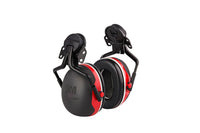 3M™ PELTOR™ X3 Earmuffs X3P5E, Electrically Insulated, Hard Hat Attached, 10 EA/Case