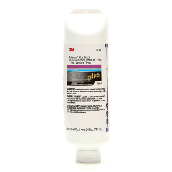 3M™ Platinum™ Plus Glaze, 03180, 24 fl oz, 6 tubes per case