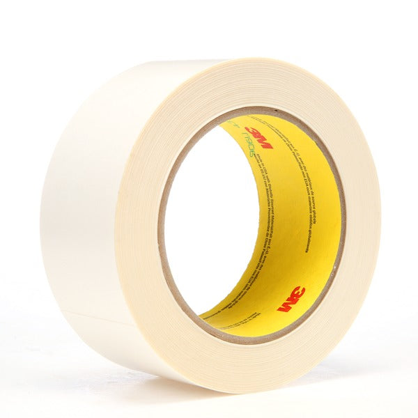 3M™ Repulpable Flying Splice Tape 906W, White, 36 mm x 33 m, 3 mil, 24 rolls per case