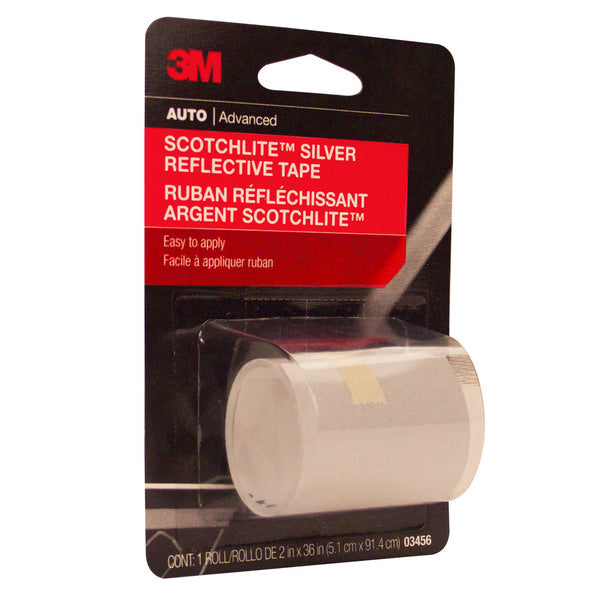 3M™ Scotchlite™ Reflective Tape, 03456, 2 in x 36 in, 24 per case