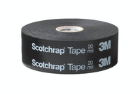 3M™ Scotchrap™ Vinyl Corrosion Protection Tape 51, 4 in x 100 ft, Printed, Black, 4 rolls/Case