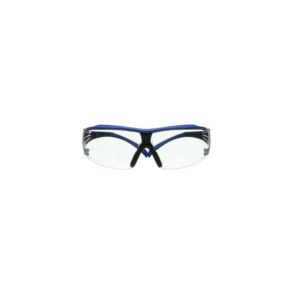 3M™ SecureFit™ 400 Series Safety Glasses SF401XSGAF-BLU, Blue/Gray, Clear Scotchgard™ Anti-Fog/Anti-Scratch Lens, 20 ea/Case