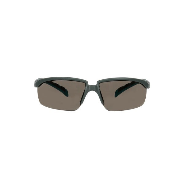 3M™ Solus™ 2000 Series, S2002SGAF-BGR, Gray/Blue-Green Temples, Scotchgard™ Anti-Fog Coating, Gray AF-AS lens, 20ea/cs