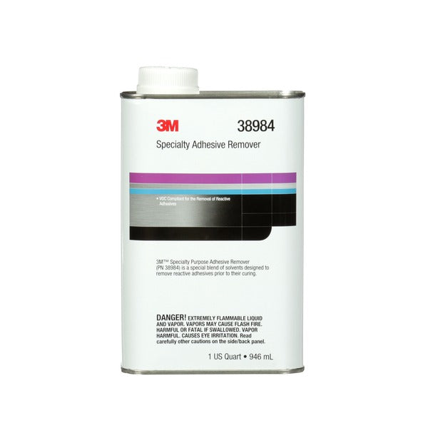 3M™ Specialty Adhesive Remover, 38984, 1 qt, 6 per case