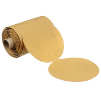 3M™ Stikit™ Gold Paper Disc Roll 216U, 5 in x NH P320 A-weight, 75 discs per roll 12 rolls per case