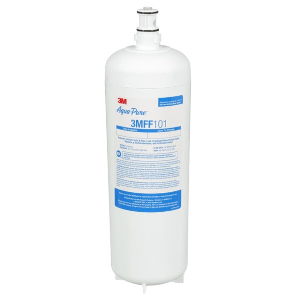 3M™ Under Sink Water Filter Cartridge 3MFF101, 5613432, Full Flow, 0.2 um, For 3MFF100, 6/Case