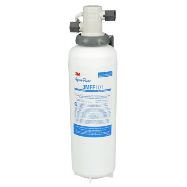 3M™ Under Sink Water Filter System 3MFF100, 5616318, Full Flow, 0.2 um, 6/Case