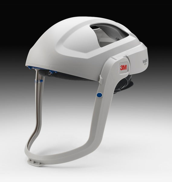 3M™ Versaflo™ Respiratory Helmet Assembly M-405, with Standard Visor and Shroud, 1 EA/Case