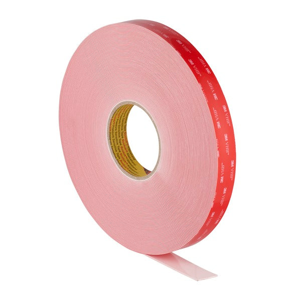 3M™ VHB™ Tape LSE-110WF, White, 1/2 in x 36 yd, 45 mil, 18 rolls per case
