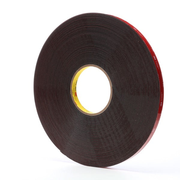3M™ VHB™ Tape 5952, Black, 1/2 in x 36 yd, 45 mil, 18 rolls per case