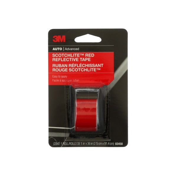3M™ Scotchlite™ Reflective Tape, 03458, 1 in x 36 in, 24 per case