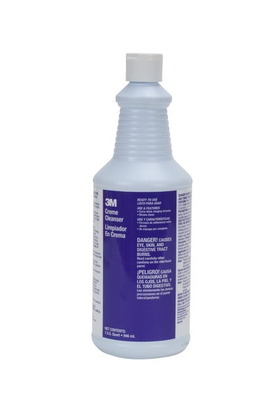 3M™ Creme Cleanser Ready-to-Use, 1 Quart, 12/Case