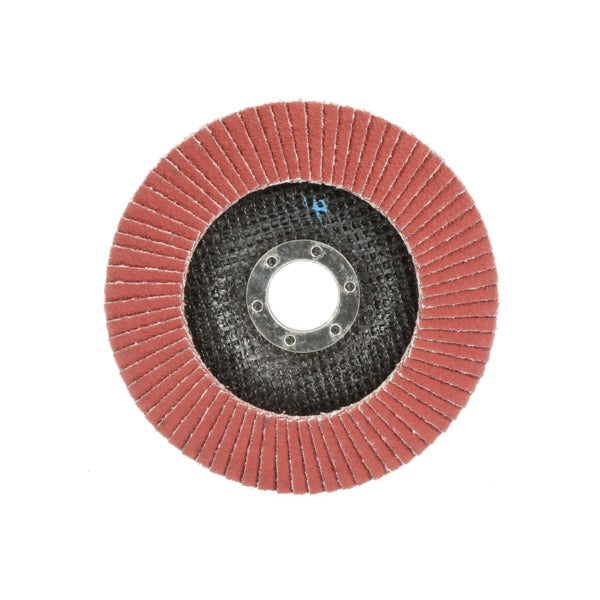 3M™ Cubitron™ II Flap Disc 969F, T29 Quick Change, 4-1/2 in x 5/8-11, 60+ YF-weight, Giant, 10 per case