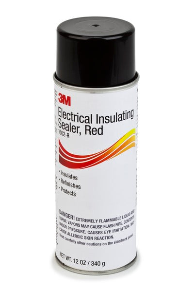 3M™ Electrical Insulating Sealer 1602-R, 12-oz Can, Red, 12/Case