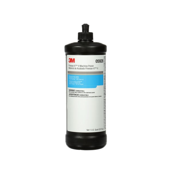 3M™ Finesse-it™ II Machine Polish, 05928, 1 qt (32 fl oz/946 mL), 6 per case