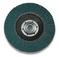 3M™ Flap Disc 546D, T27 Quick Change, 4-1/2 in x 5/8-11, 40 X-weight, 10 per case