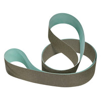 3M™ Flexible Diamond Belt 6451J, M250, Type G, Pattern B2, Green, 3 in x 144 in