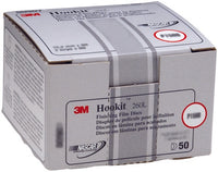 3M™ Hookit™ Finishing Film Abrasive Disc 260L, 00953, 5 in, P1000, 100 discs per carton, 4 cartons per case