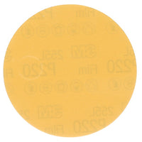 3M™ Stikit™ Gold Film Disc 255L, P180, 3 in x NH, Die 300V