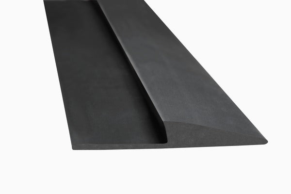 3M™ Matting Edging Roll, Medium Profile, Black, 1 in x 75 ft, 1/Case
