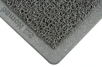 3M™ Nomad™ Medium Traffic Entrance Matting 6050, Backed Scraper, Gray, 4 ft x 6 ft, 1/Case