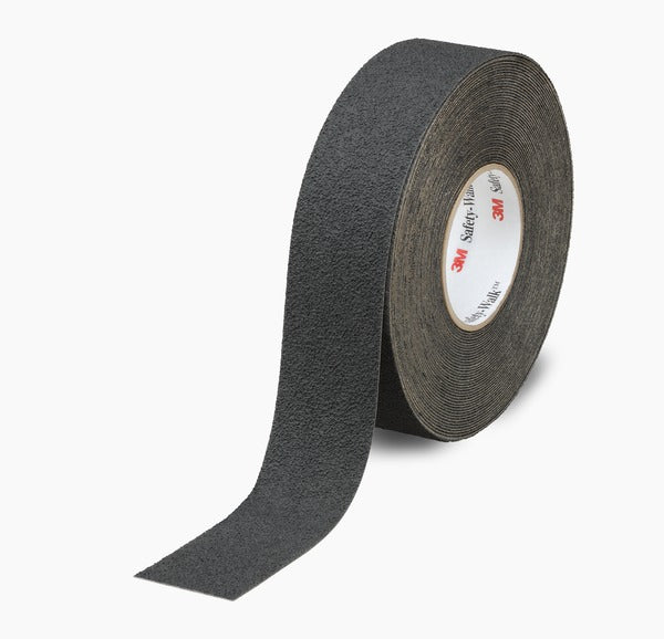 3M™ Safety-Walk™ Slip-Resistant Medium Resilient Tapes & Treads 310, Black, 12 in x 60 ft, Roll, 1/Case